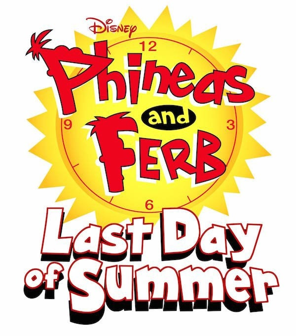 Phineas And Ferb Last Day of Summer logo #PhineasAndFerbEvent #LastDayOfSummer