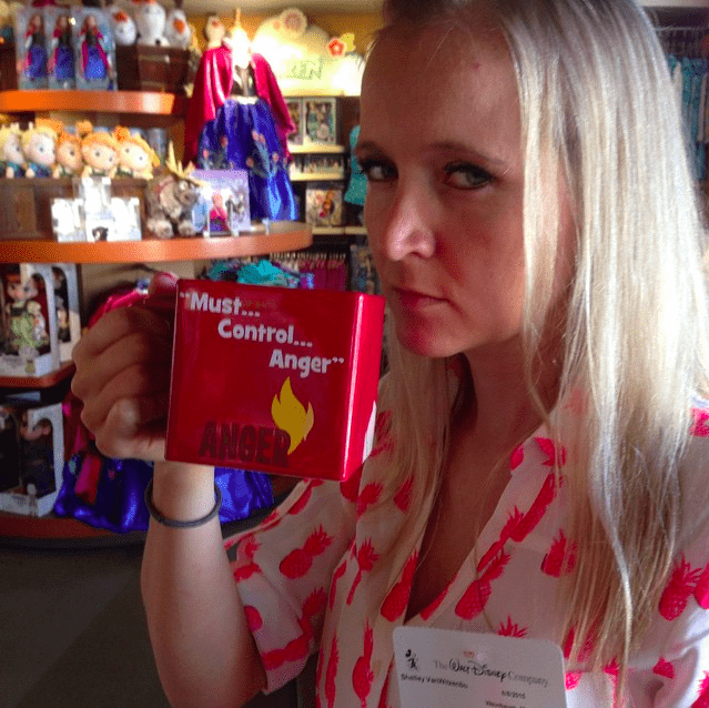 Inside Out Anger coffee mug LOVE IT! #InsideOutEvent