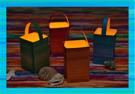 Teen Beach 2 viewing party crafts - Paper Lanterns #TeenBeach2Event