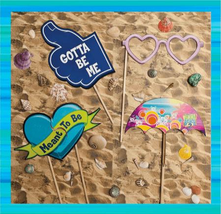 Teen Beach 2 activities - photo props