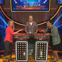 On the set of Celebrity Family Feud #CelebrityFamilyFeud #ABCTVEvent