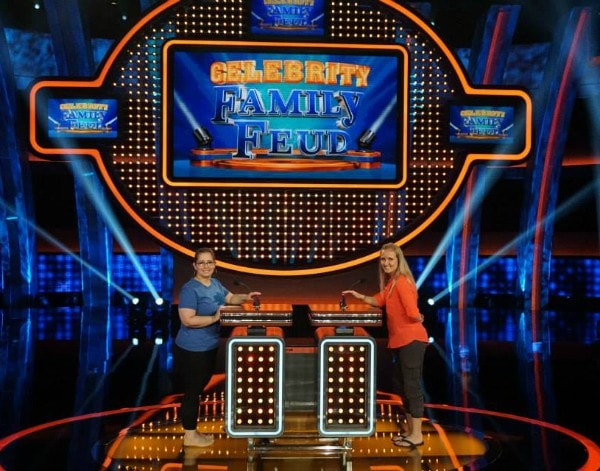 Susan vs Shelley bloggers on Celebrity Family Feud #CelebrityFamilyFeud #ABCTVEvent