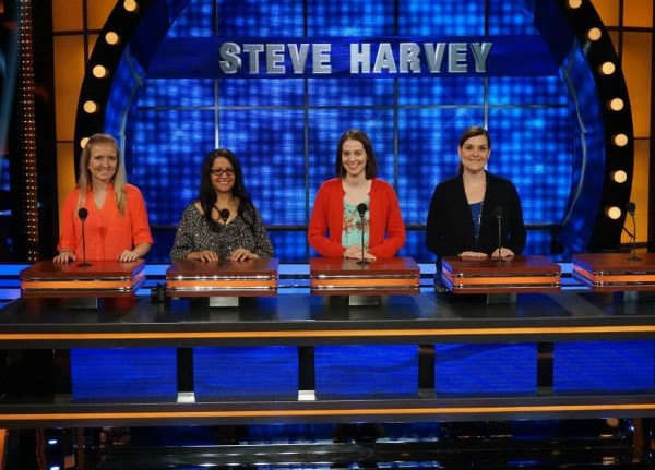 Team Mommy Bloggers #CelebrityFamilyFeud #ABCTVEvent