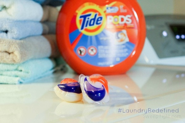 Tide Pods make doing laundry so easy anyone can do it! #LaundryRedefined #ad