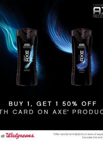 AXE Shower Gel for the Best Smelling Man