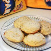 Cinnamon Cornmeal Cookies Recipe #PANFan
