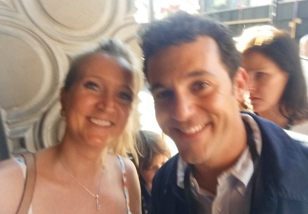 Shelley and Fred Savage #InsideOutEvent