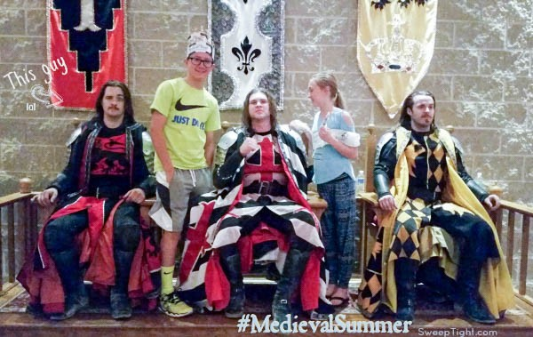 LOL funny summer fun at Medieval Times #MedievalSummer #spon