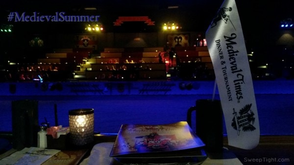 Bring the whole family to Medieval Times! #MedievalSummer #spon