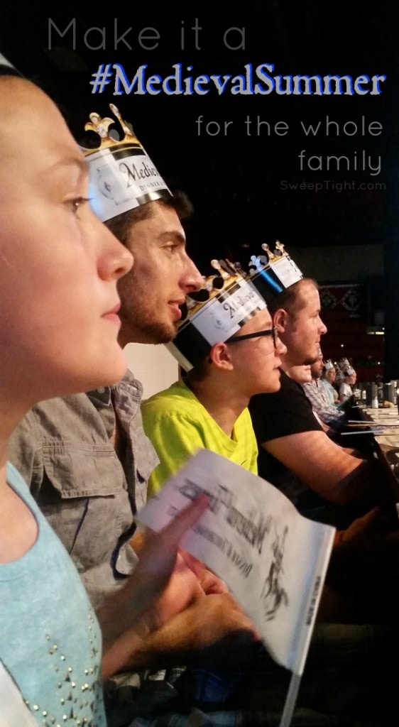 Medieval Times is awesome for the whole family! Perfect summer fun #MedievalSummer #spon