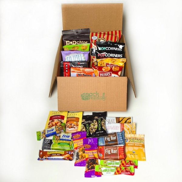 30 pack of healthy snacks perfect for the office or kid's lunch