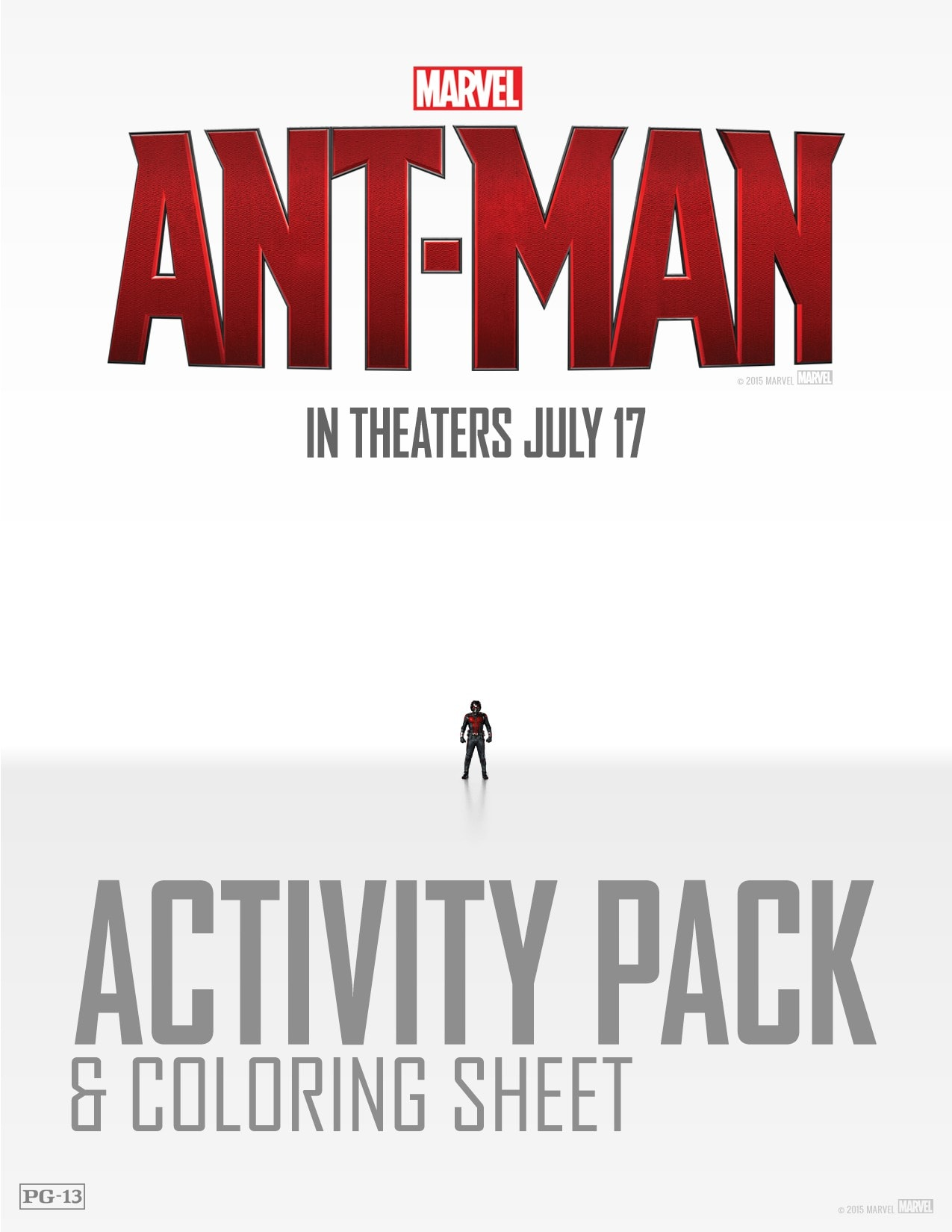 Ant-Man Printable Coloring Sheets and Games