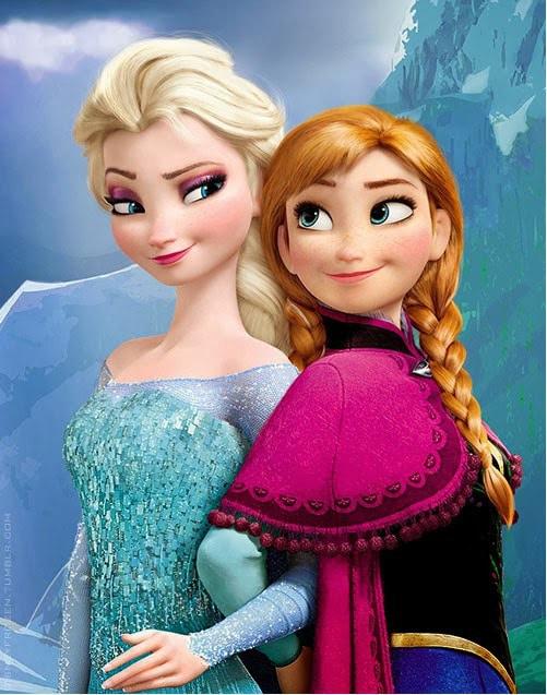 Disney's Frozen Elsa and Anna #D23EXPO Costume Ideas