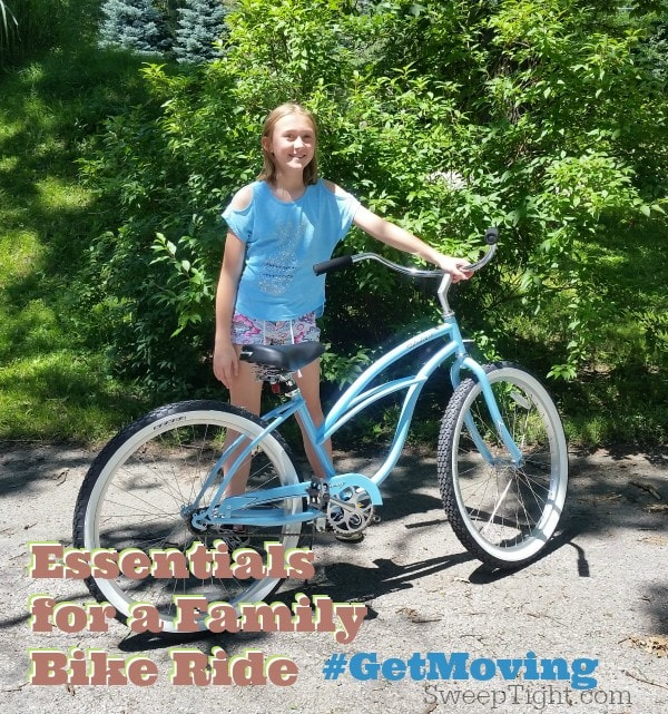 Don't forget these 5 essentials on your next family bike ride #GetMoving #spon