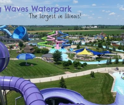 Raging Waves is the Largest Waterpark in Illinois