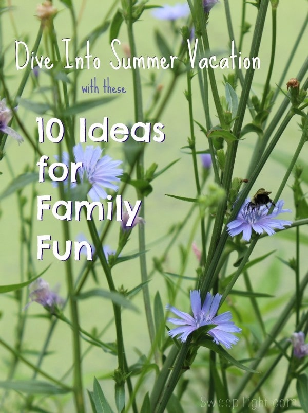 10 Summer Vacation Ideas to add to your summer checklist #SummerSafety #ad