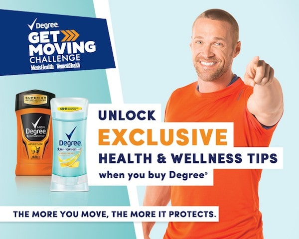 Buy Degree at Walgreen and take the #GetMoving challenge this summer! #spon