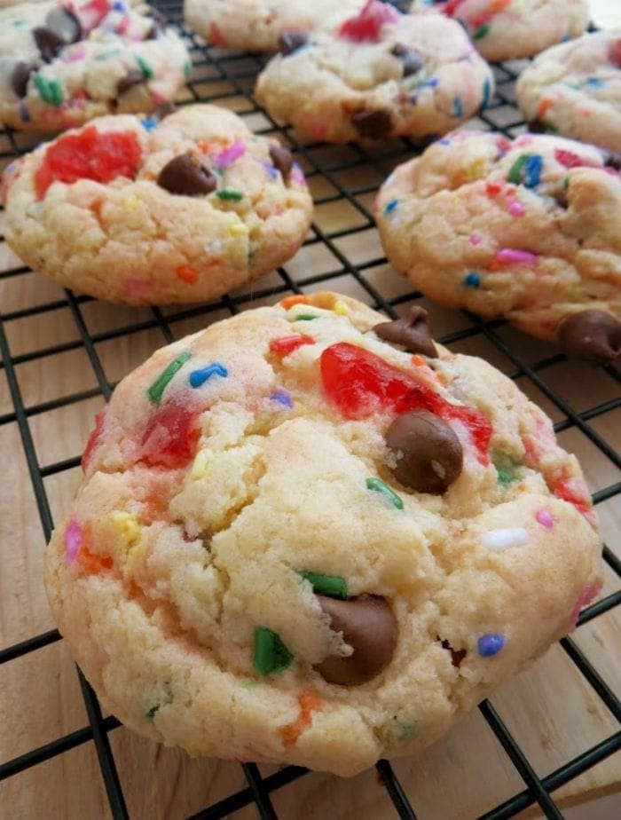 Banana Split Cookies Cookie Recipe