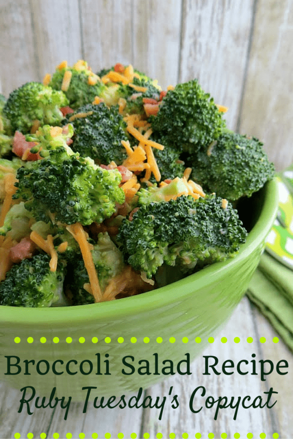 Broccoli Salad Recipe - Ruby Tuesday's Copycat