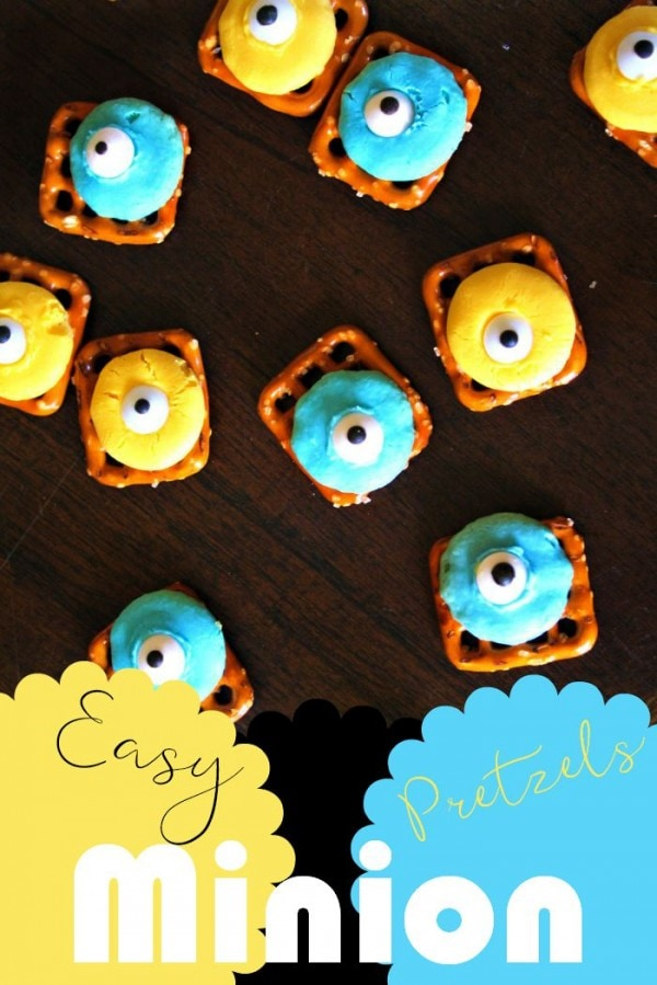 Easy Minions Pretzel Candy Recipe