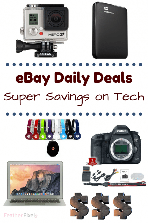 eBay Daily Deals - 5 Tech Gadgets on my Wishlist