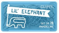 Elephant paper clips make office work more fun!