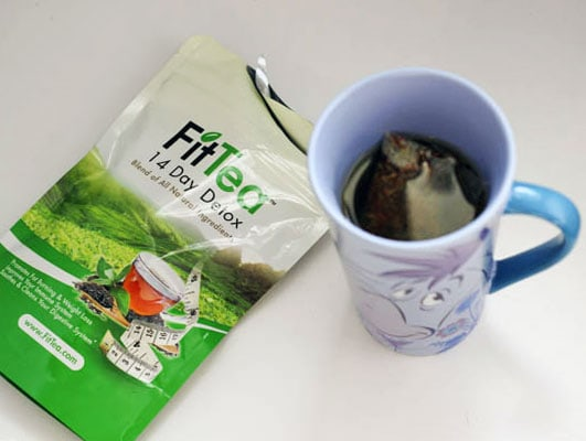 Best Detox Tea That I Have Tried - FitTea Review #FitTea