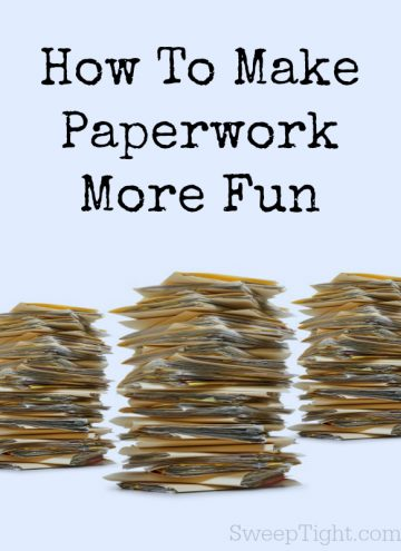 10 Ways to Make Paperwork and Office Work more fun