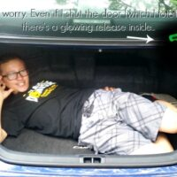 How many bodies can you fit in the trunk of a Toyota Camry Hybrid car #DriveToyota #ad