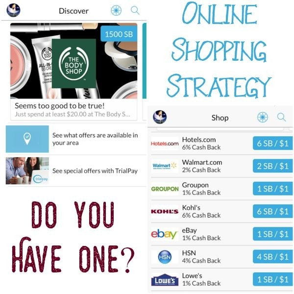Online Shopping Strategy?