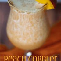 Peach Cobbler Margarita Recipe