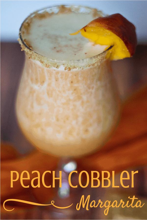 Peach Cobbler Margarita