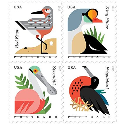 Pretty stamps make office work more fun!