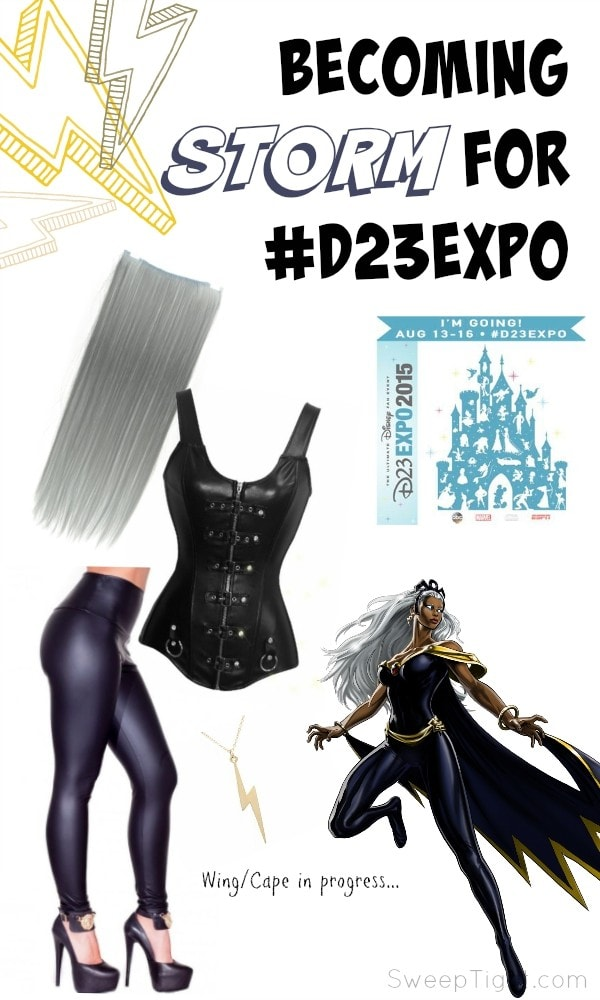 Storm costume ideas for #D23EXPO