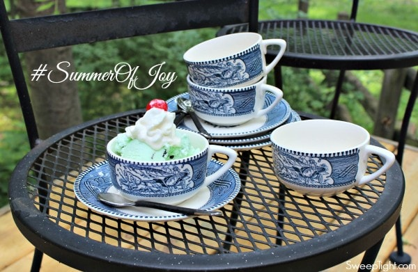 How to help in the community and then enter to win a year's worth of ice cream! #SummerOfJoy #ad