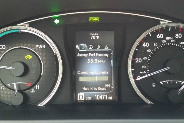Toyota Camry Hybrid Car 2015 Gauges #ad