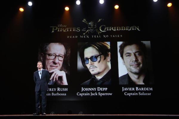 Awesome cast for the new Pirates movie!