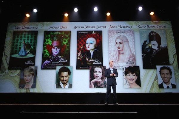 Cast of #DisneyAlice #D23Expo