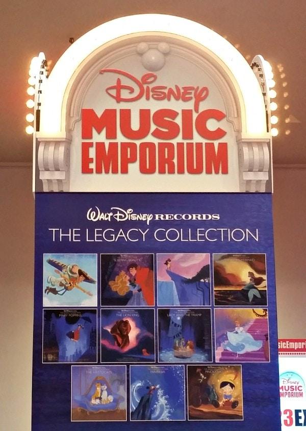 Disney magic at the Music Emporium #D23Expo