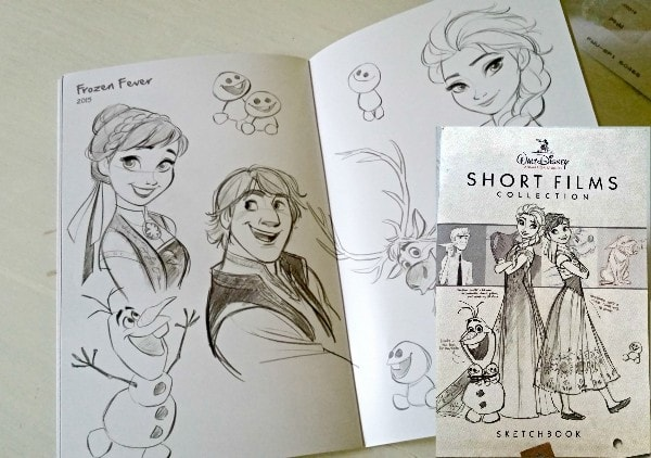 Disney Short Films sketches #D23Expo