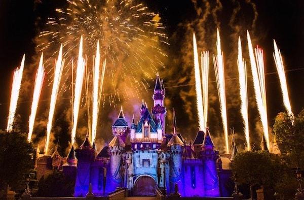 Disneyland Forever fireworks #Disneyland60