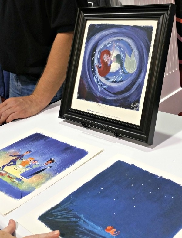 Disney magic through music The art of Lorelay Bove -The Legacy Collection #ShareYourLegacy #D23Expo