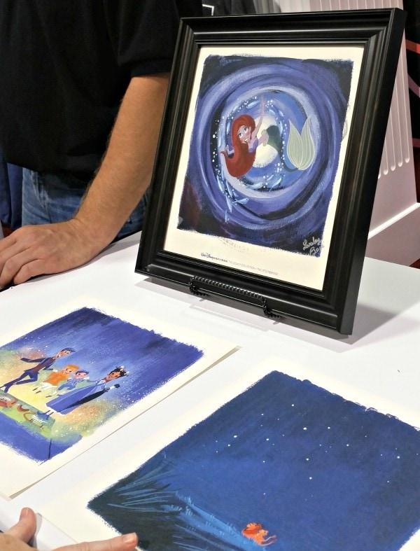 Disney magic through music The art of Lorelay Bove -The Legacy Collection #ShareYourLegacy #D23Expo