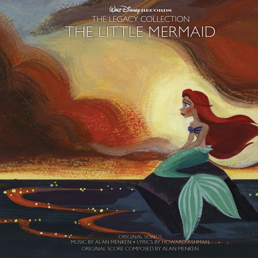 Disney Magic via music The Little Mermaid Legacy Collection #ShareYourLegacy #D23Expo