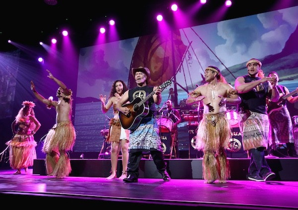 Musical performance at #D23Expo for #Moana animated Disney movies