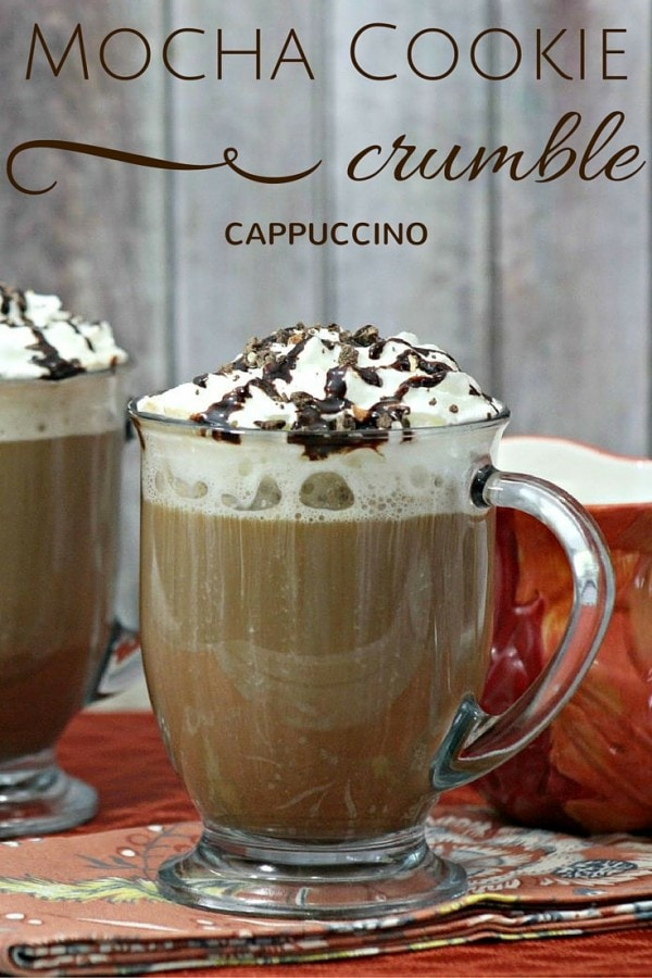 Mocha Cookie Crumble Cappuccino Recipe