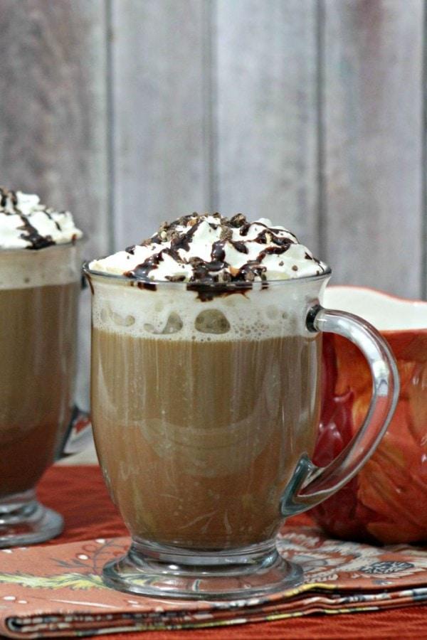 Mocha Cookie Crumble Cappuccino Recipe