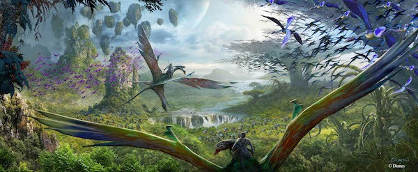 AVATAR Pandora to be added to Disney's Animal Kingdom #Pandora #D23Expo