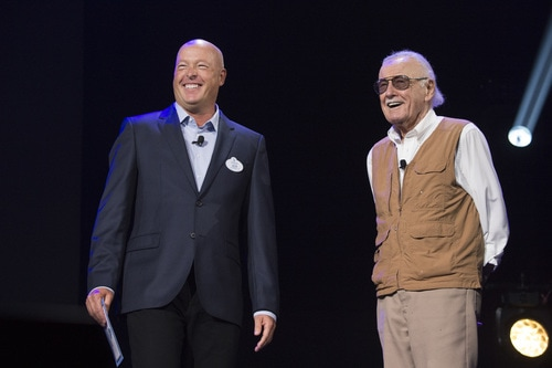 Stan Lee surprise at #D23Expo