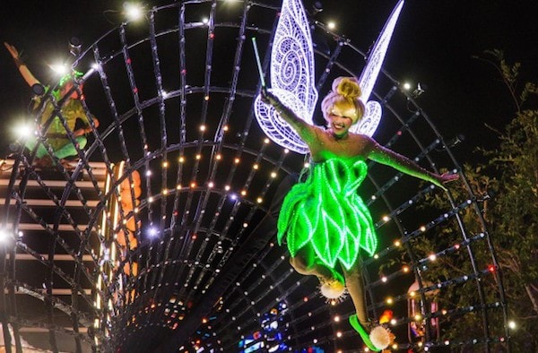 Tinker Bell float #Disneyland60 #D23Expo